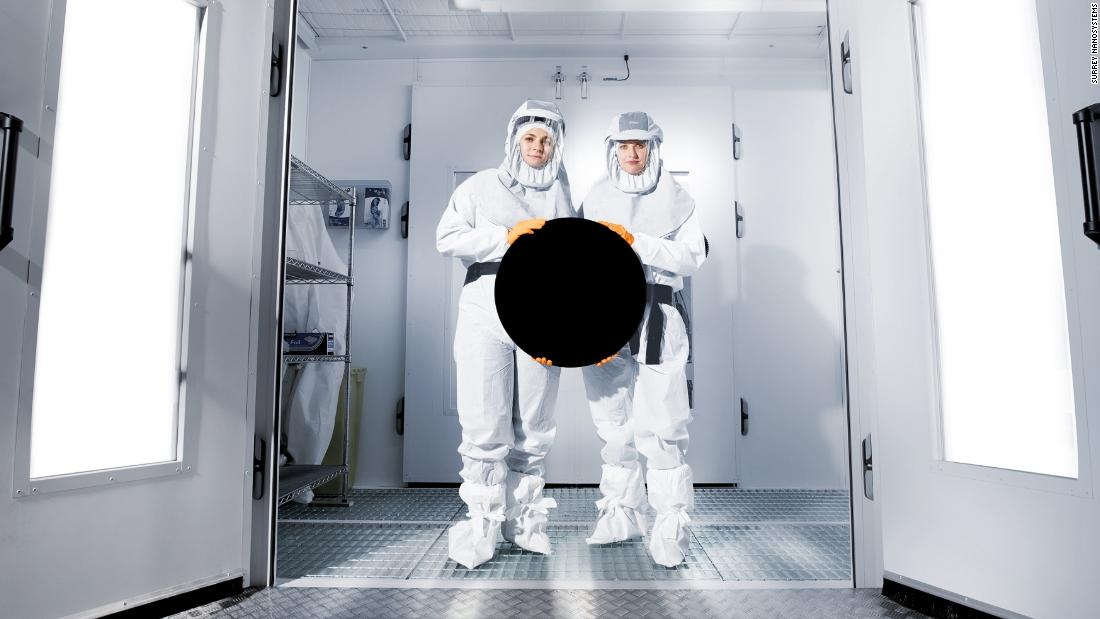 Vantablack: Darkest material known to man set to shine at Winter Olympics