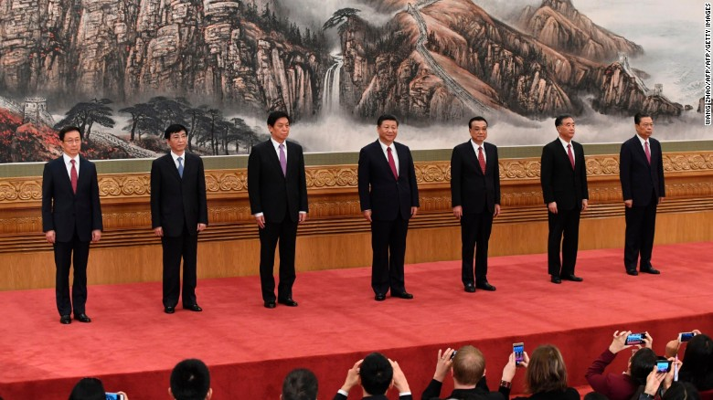 Xi Jinping cements grip on power