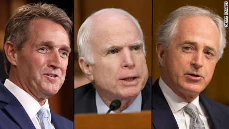 How three GOP senators will affect Trump's legislative legacy