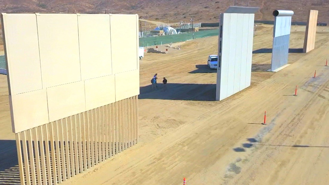 What kind of border wall does Trump want? It depends on who's asking.