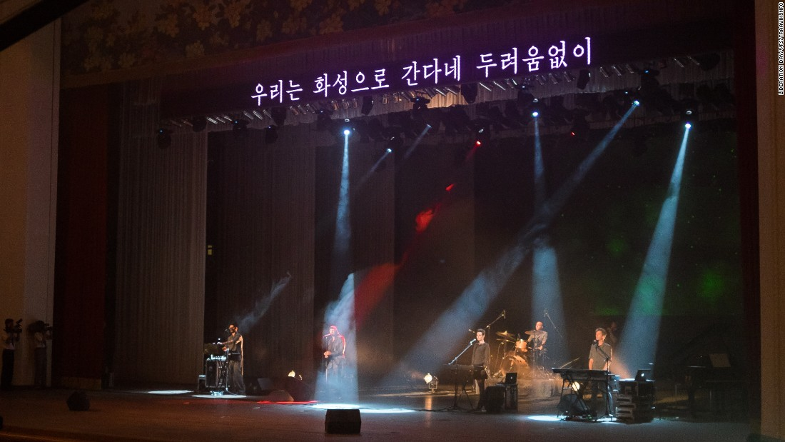 Laibach's concert in Pyongyang
