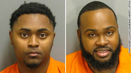 Josephus Boone, left, is charged with killing a man who testified against his brother, Jacquees, right.