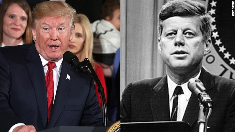 US releases some classified JFK documents