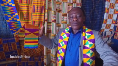 Inside Africa Ghana the birthplace of Kente Fashion A_00003711