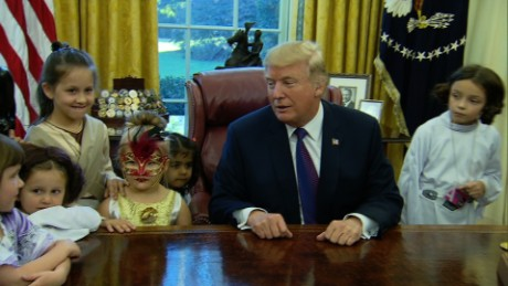 Image result for trump with media kids