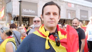 Moises Santos, 37, said he feared the independence bid would cause problems for the Catalan people for years to come.