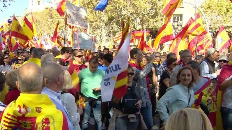 Calls for unity ring out in Spain