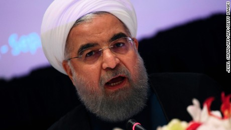 Iran will keep building missiles, Rouhani says