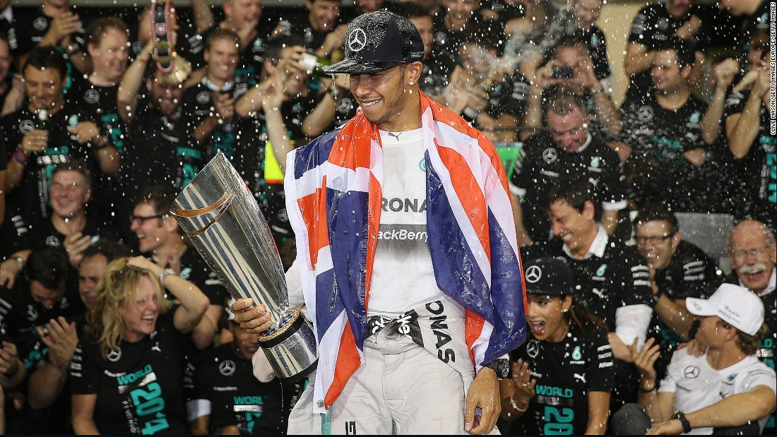 The previous year, he won his second drivers' championship, beating Mercedes teammate Nico Rosberg at the final race of the season in Abu Dhabi.