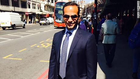 This guy who is named George Papadopoulos is having a hectic day