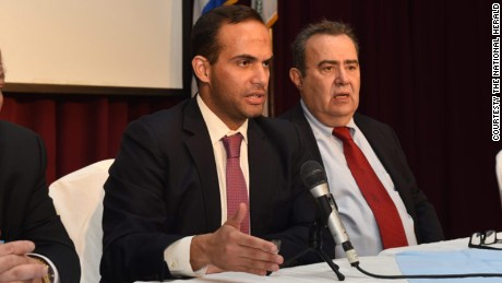 George Papadopoulos pleaded guilty to making a false statement to the FBI about his Russia connections.