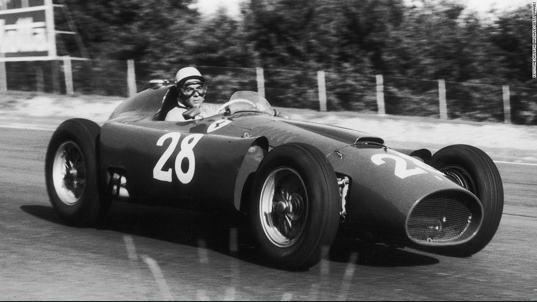Luigi Musso was another Ferrari driver who died during the 1950s. A fierce rival of his British teammates Hawthorn and Collins, Musso was killed when he crashed at the French Grand Prix in July 1958.