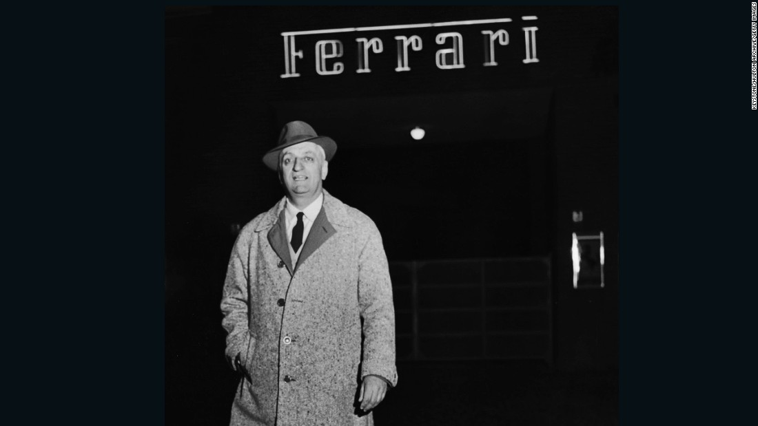 Founder Enzo Ferrari (1898-1988) steered the team to unprecedented success during his lifetime.