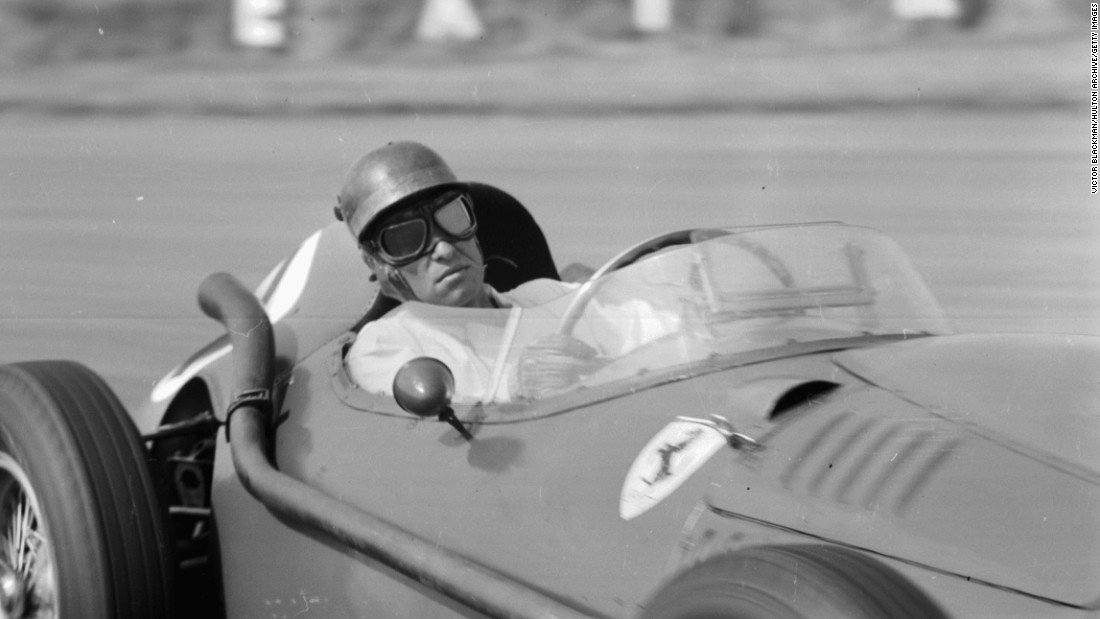 Collins was one of four Ferrari drivers to die on track. The Briton suffered a fatal crash at the 1958 German Grand Prix at the Nurburgring.