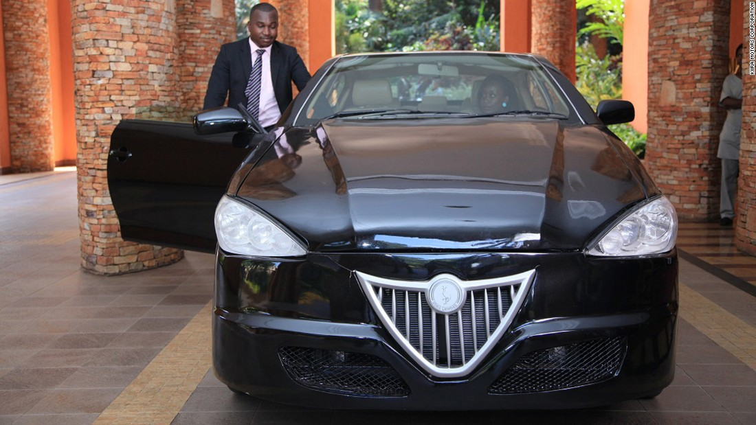 "<a href=""http://kiiramotors.com/"" target=""_blank"">Kiira Motors</a> is Uganda's offering. They are planning on releasing Africa's first hybrid car to sell at $20,000 each next year. It's also got the backing of the government, with reports that President Museveni has invested <a href=""http://www.scidev.net/global/engineering/news/uganda-hybrid-cars-low-polluting-kiira.html"" target=""_blank"">$43.5 million</a> into the project."