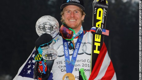 Ligety began sking aged two