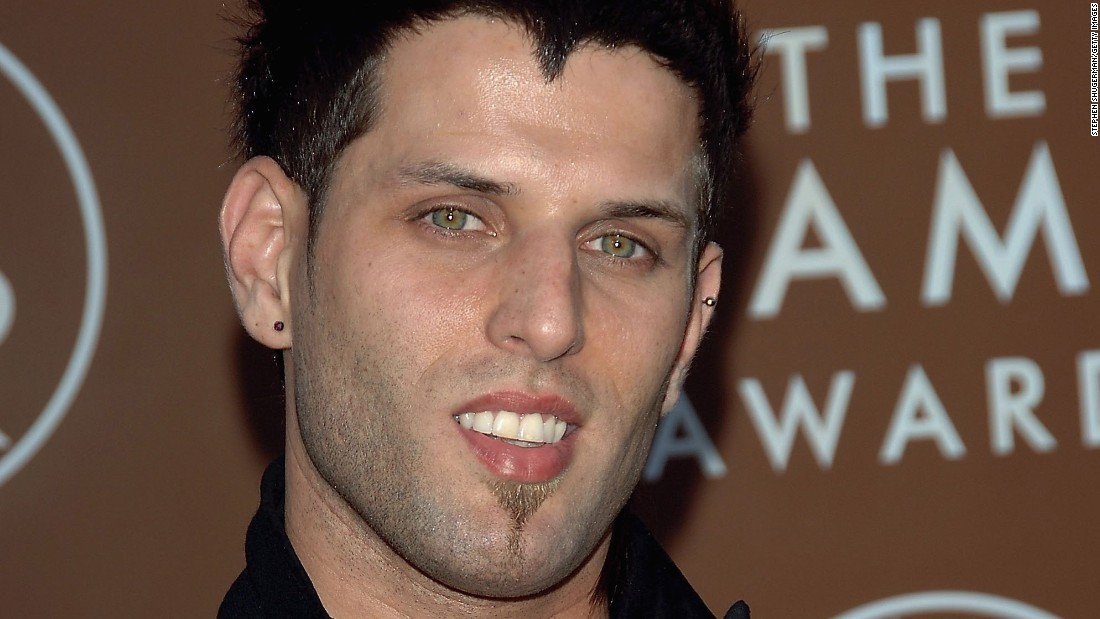 Devin Lima of LFO, seen here at the Grammys in 2006, was diagnosed in October 2017 with stage 4 adrenal cancer. His band mate, Brad Fischetti, delivered the news to fans via a video on social media.
