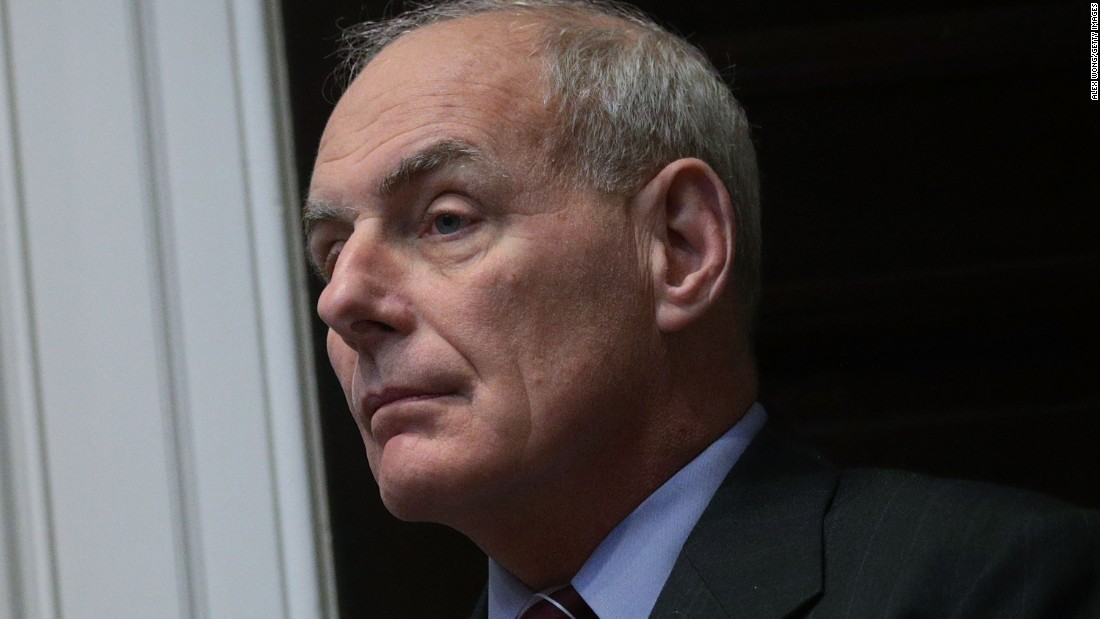 John Kelly: Immigration 'hardass'