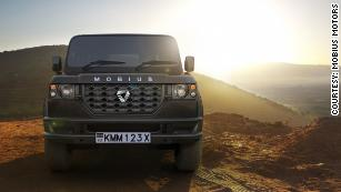 Mobius II: The luxury SUV made in Africa, for Africans