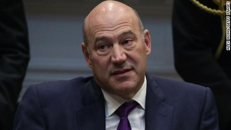 "WASHINGTON, DC - OCTOBER 31:  Director of the National Economic Council Gary Cohn listens during a Roosevelt Room event October 31, 2017 at the White House in Washington, DC. President Trump participated in a ""tax reform industry meeting"" with business leaders.  (Photo by Alex Wong/Getty Images)"