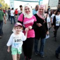 Erbil International Marathon mom and child