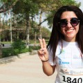 Erbil International Marathon smile