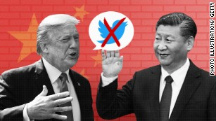 Trump in China: The Twitter President meets the Great Firewall