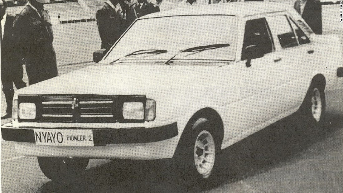 Arguably Africa's first homegrown produced car, Nyayo Car was founded in 1986 by the Kenyan government who had big ambitions for the country's car industry. The project never really got off the ground. The prototype cars did however, it's claimed, have top speeds of 120 km per hour.