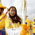 First torch bearer South Korean figure skater You Young pyeongchang 2018