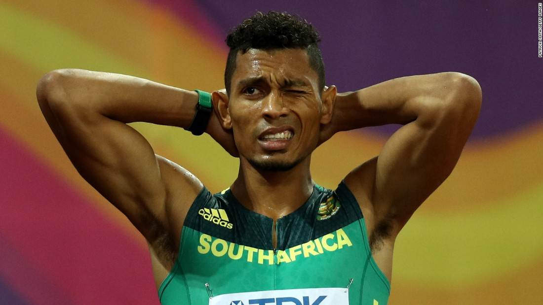 Wayde van Niekerk: Usain Bolt's 'successor' injured playing touch rugby