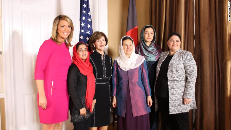 Laura Bush: A passion for helping Afghan women