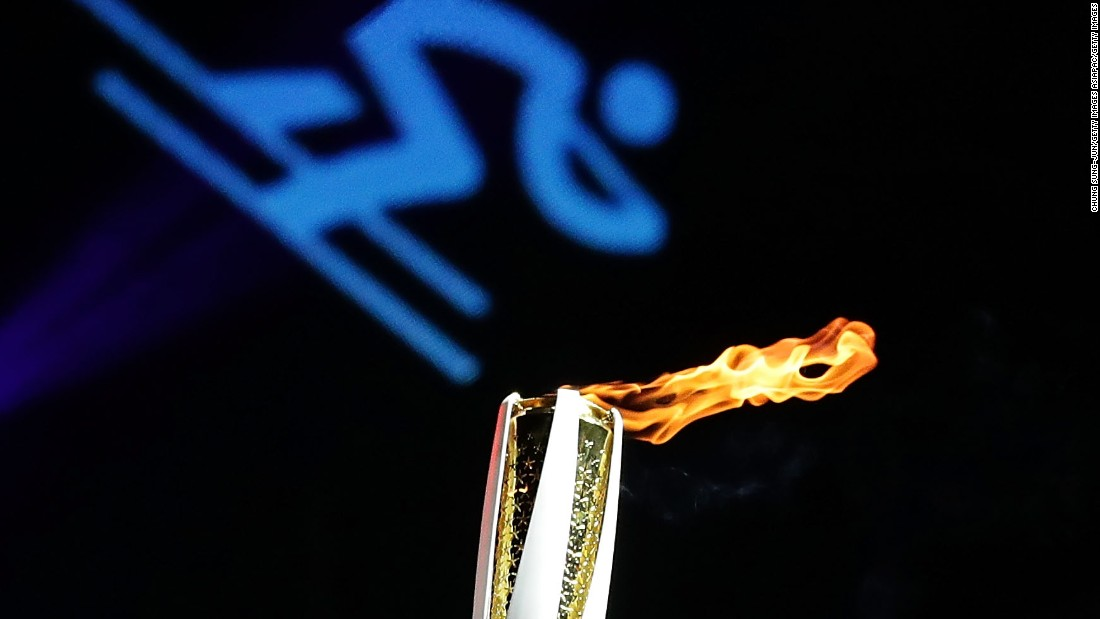 The Olympic Flame will be exchanged by 7,500 torchbearers over the coming 100 days as it makes its journey around the Republic of Korea.