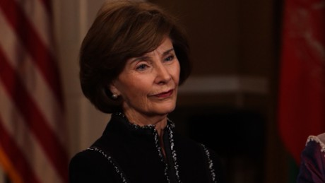 Laura Bush: I wish first family the very best