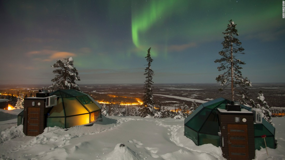 7 spectacular hotels for viewing the northern lights