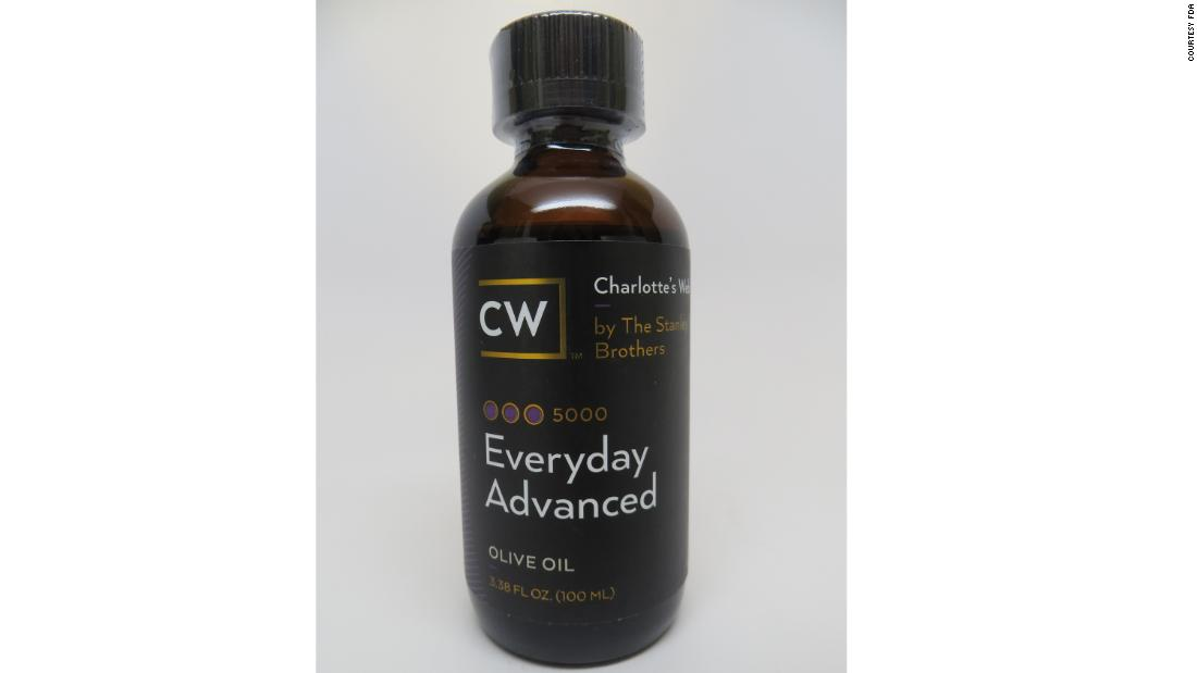 Everyday Advanced Dietary Supplement, sold by Stanley Brothers Social Enterprises (doing business as CW Hemp).
