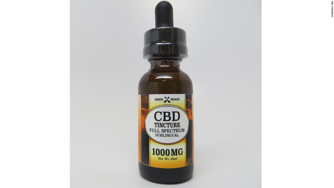 CBD Tincture 1000 milligrams, sold by Greenroads Health.
