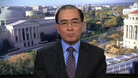 north korea intv amanpour Thae Yong-Ho defection_00003921