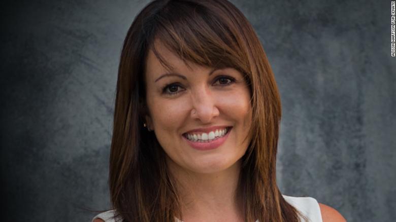 Progressive activist and organizer Alison Hartson