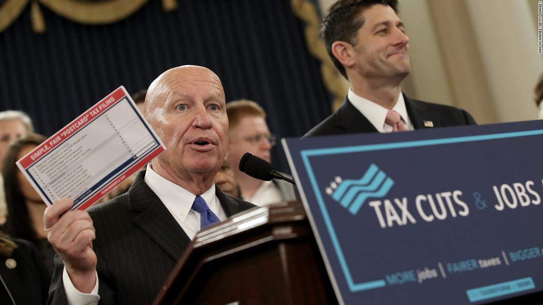The House Republicans who voted 'no' on tax reform