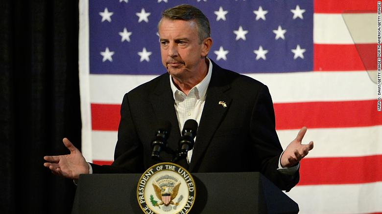 ABINGDON, VA - OCTOBER 14:  Gubernatorial candidate Ed Gillespie, R-VA, speaks at a campaign rally at the Washington County Fairgrounds on October 14, 2017 in Abingdon, Virginia.  Virginia voters head to the polls on Nov. 7. (Photo by Sara D. Davis/Getty Images)