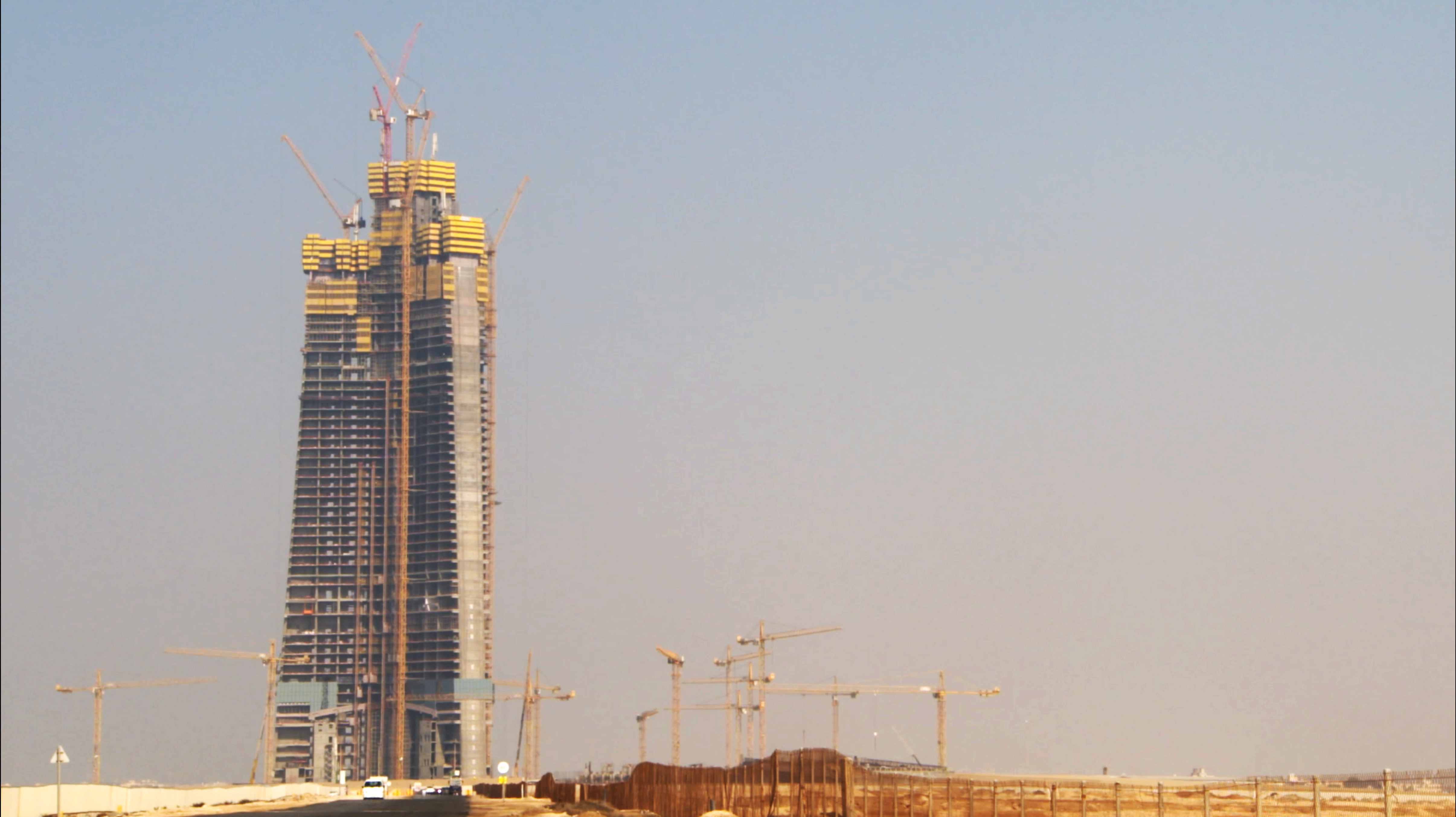 The tallest building in the world, Jeddah Tower, is set to