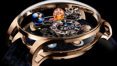 Never-before-seen timepieces and astronomical clocks on show at Salon QP 2017