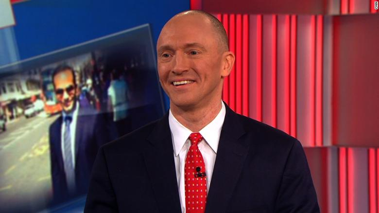 Carter Page confirms he told Sessions about his trip to Russia
