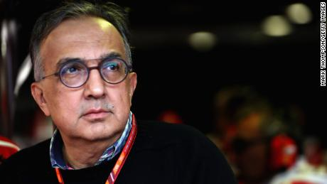 Sergio Marchionne, Ferrari CEO, pictured at the Italian Grand Prix  (Photo by Mark Thompson/Getty Images)