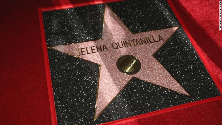 Selena honored on Hollywood Walk of Fame
