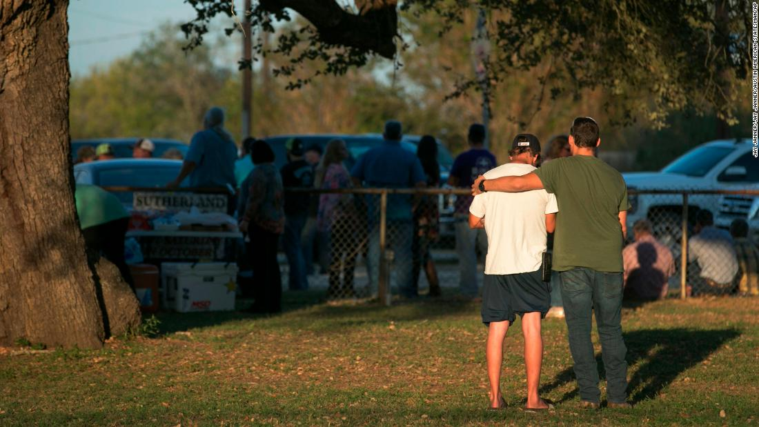 Ex-wife says Texas church shooter had 'demons'
