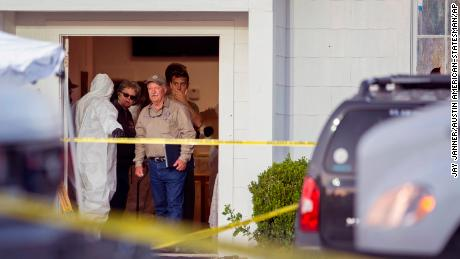 Texas church shooter's ex-wife says he was abusive, had 'demons'
