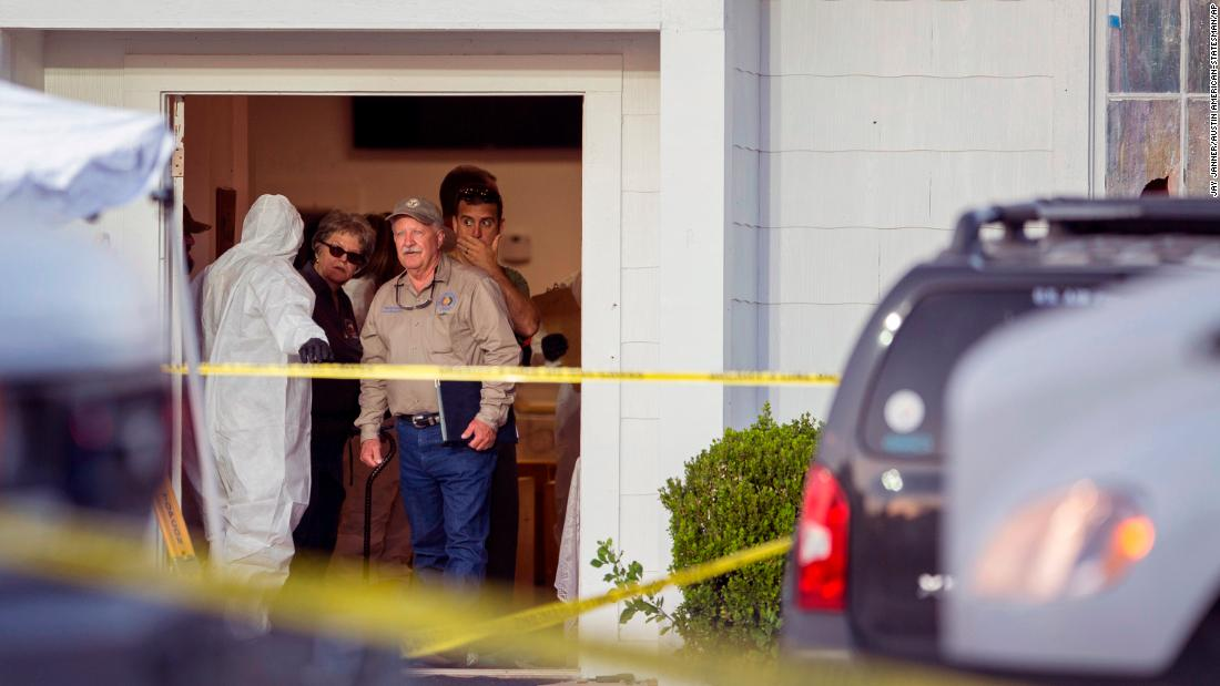Ex-wife speaks out on Texas church gunman's violence