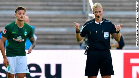 Football's pioneering woman referee