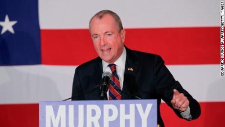 PARAMUS, NJ: Democratic candidate Phil Murphy, who is running for the governor of New Jersey speaks to attendees during a rally on October 24, 2017 in Paramus, New Jersey. (Eduardo Munoz Alvarez/Getty Images)